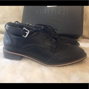 Black Oxford Shoes Women's 7.5